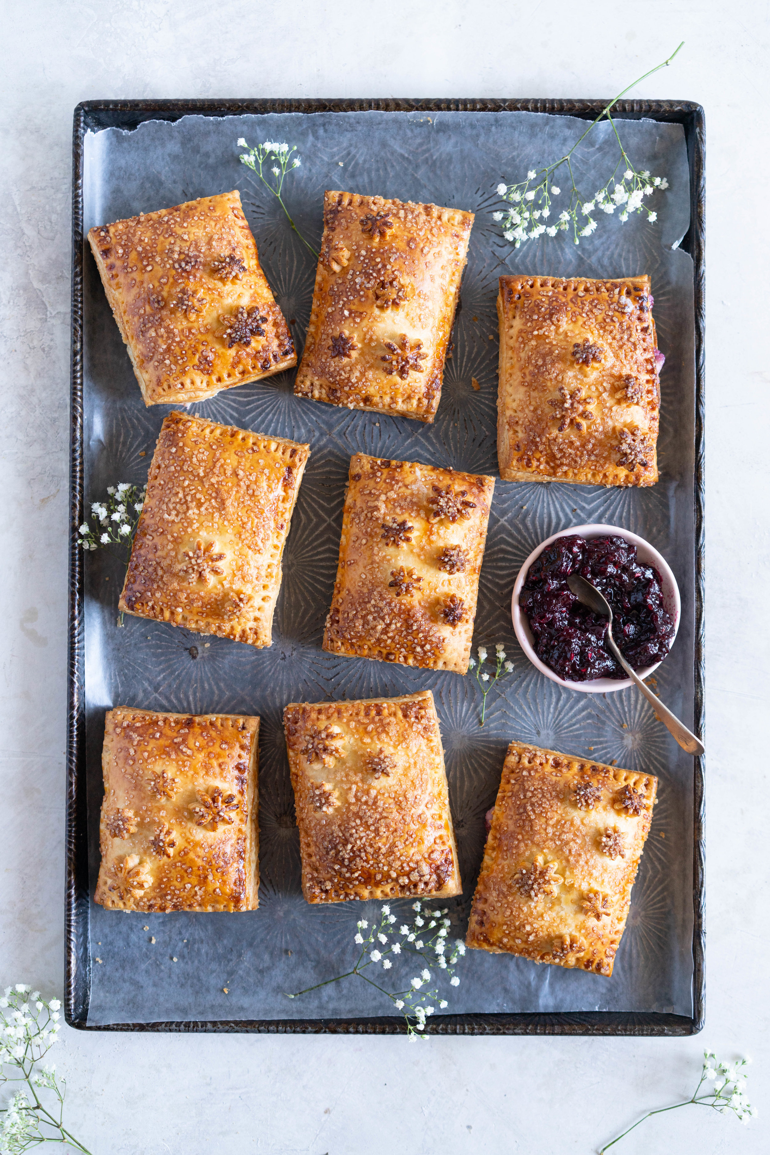 finished cream cheese and mixed berry jam hand pies.jpg