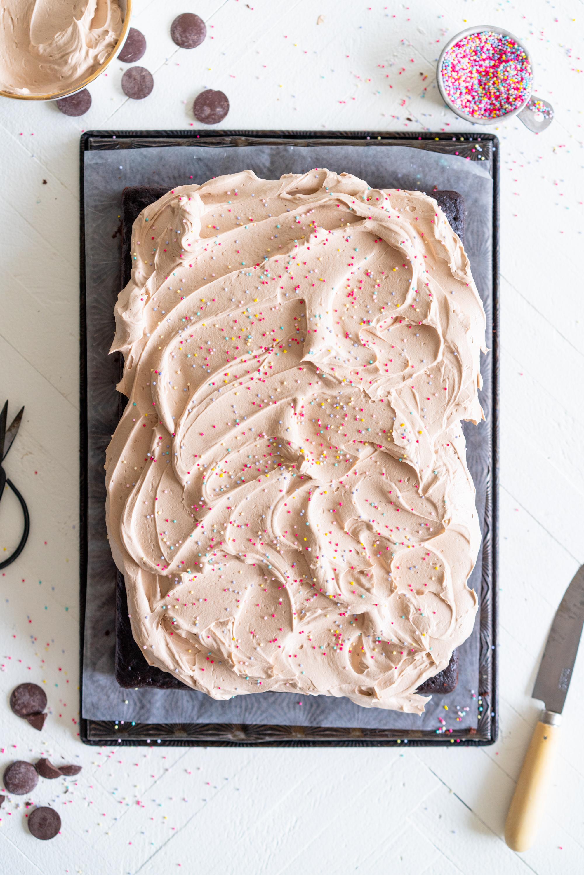 chocolate sheet cake with german milk chocolate buttercream .jpg