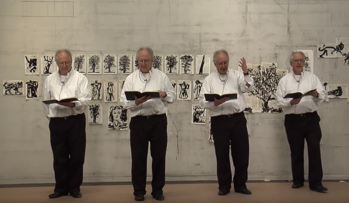 William Kentridge,  The creative process of a master artist,  TEDxJohannesburgSalon 2016, where Kentridge explains his view on the polyphonous voice.