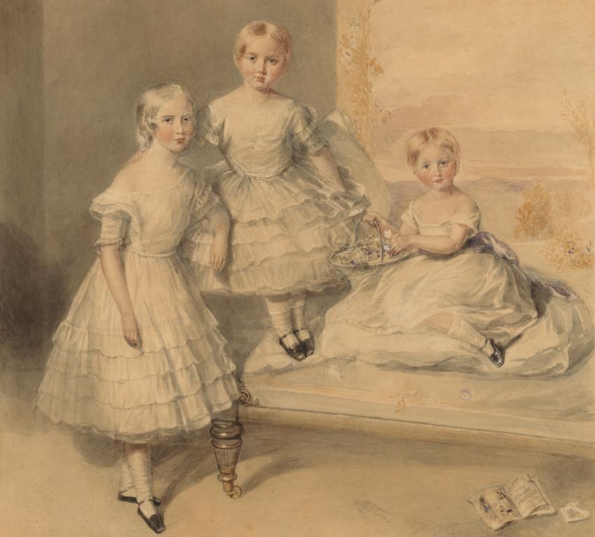 Caroline's daughters: Sophy Marianne, Lucy Caroline and Margaret Susan