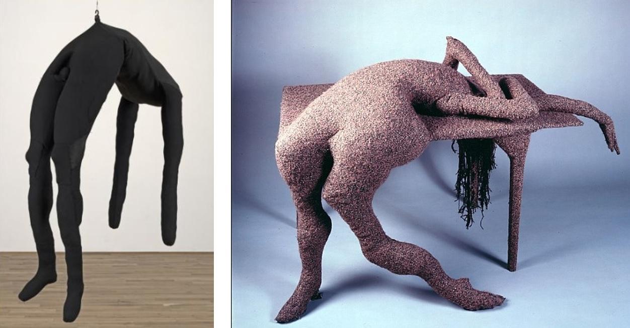Draped Bodies: Bourgeois - Single II (1996) / Tanning - Table Tragique, Hôtel du Pavot, Chambre 202 (1970 - 1973)