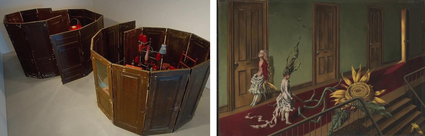 Doors: Bourgeois - Red Rooms (1994) / Tanning - Eine Kleine Nachtmusik (1943)