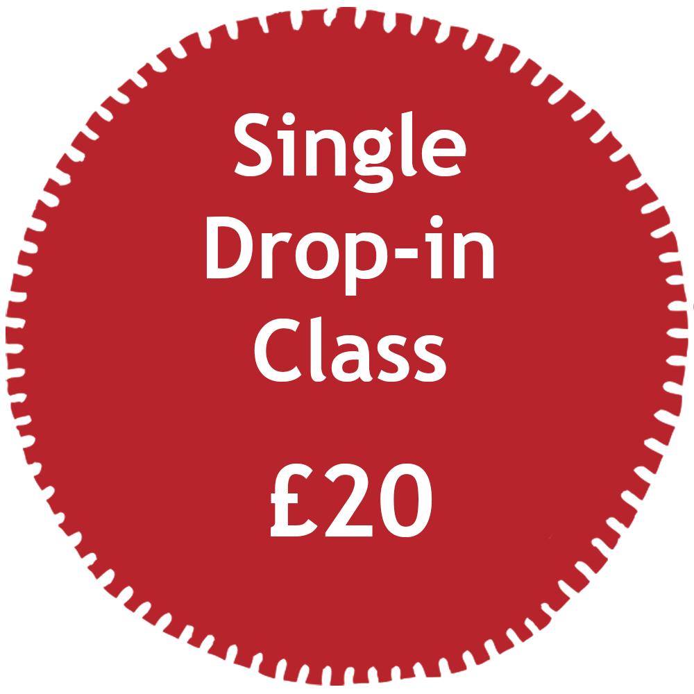 Single Hot Yoga Drop in Price Tag