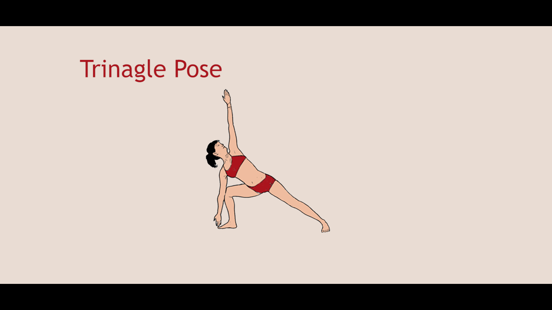Bikram Yoga Triangle Pose Video Tutorial