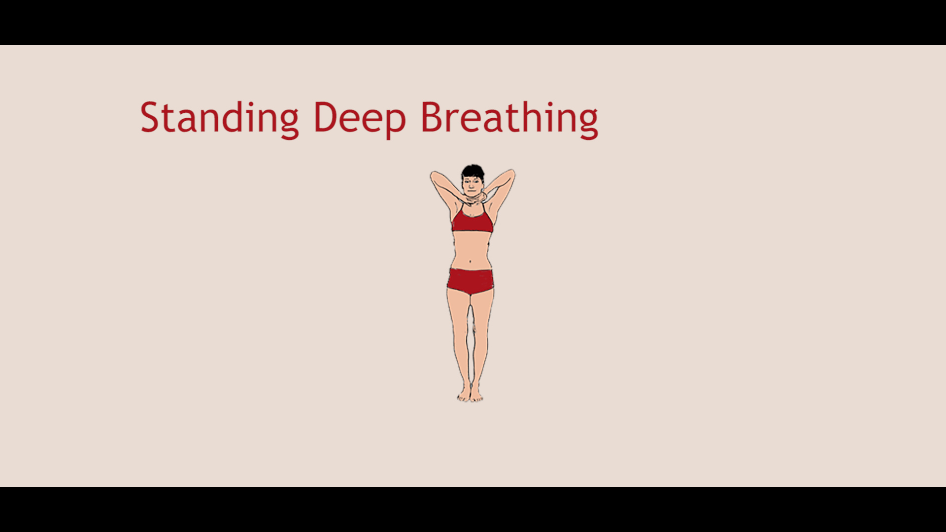 Bikram Yoga Standing Deep Breathing Video Tutorial