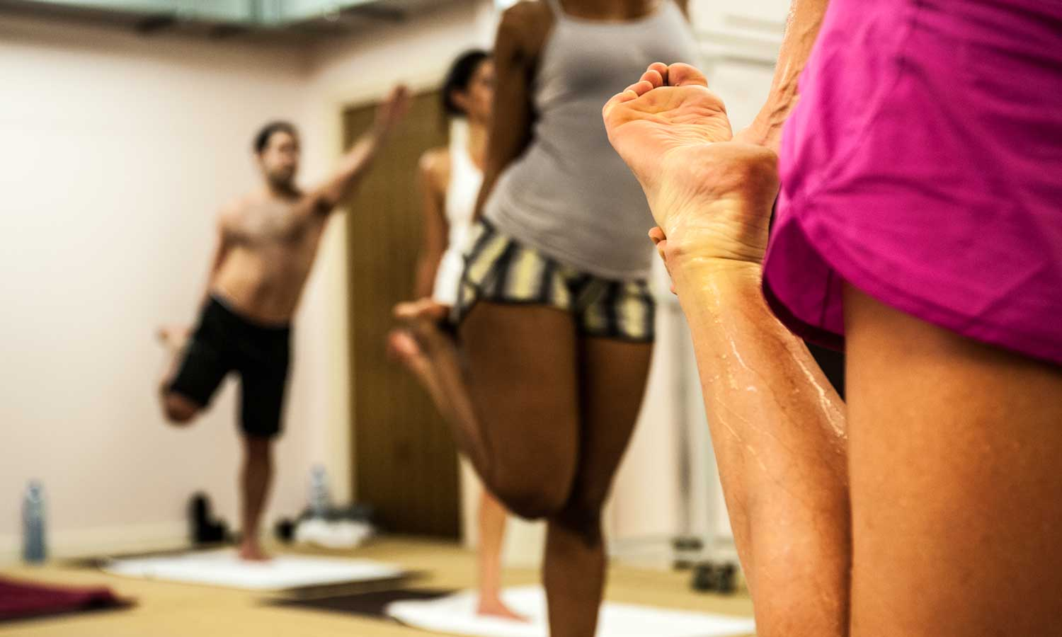 Sohot Hot Yoga Standing Bow Grip