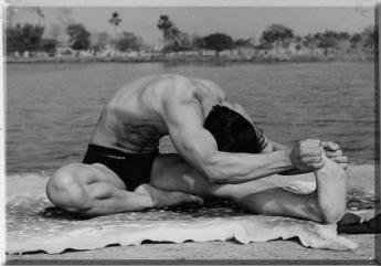 Sohot-Bikram-Hot-Yoga-London-Head-to-Knee-with-Stretching