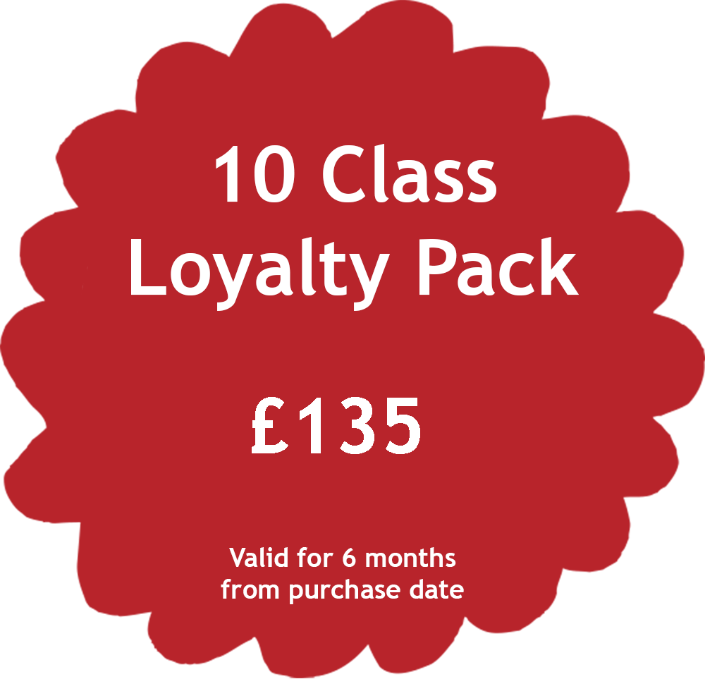 10 Class Loyalty Pack Price Tag