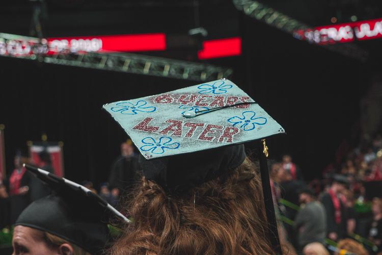 Funny spongebob Graduation Cap