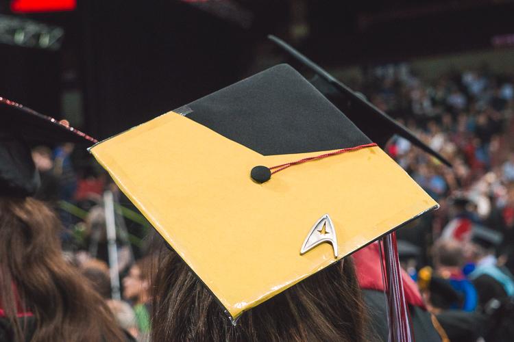 Star Trek Graduation Cap