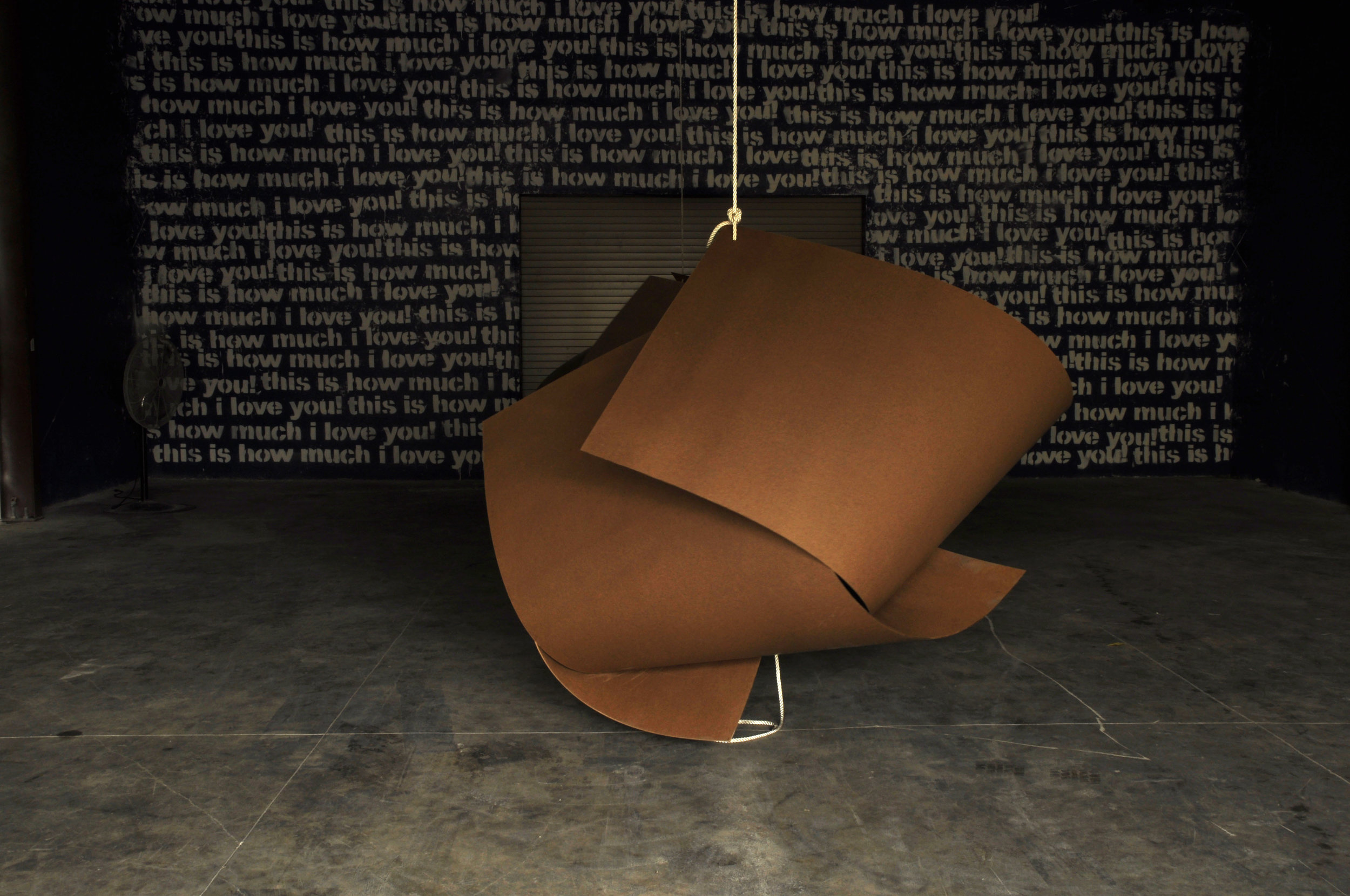 'Material and Sculpture' exhibition with works by John Cox and Heino Schmid at Liquid Courage, 2013