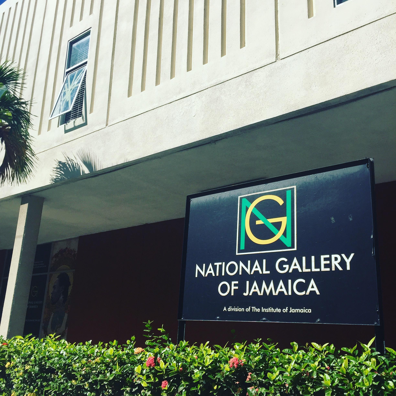 Facade, National Art gallery of Jamaica, Kingston