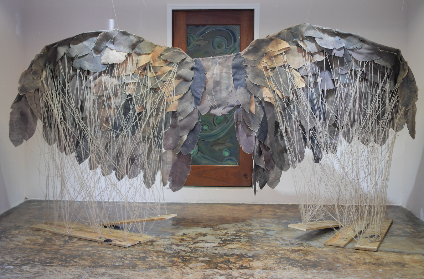 Cynthia Rahming. The Gaulin Wife. Installation at Hillside House for the National Exhibition 8.