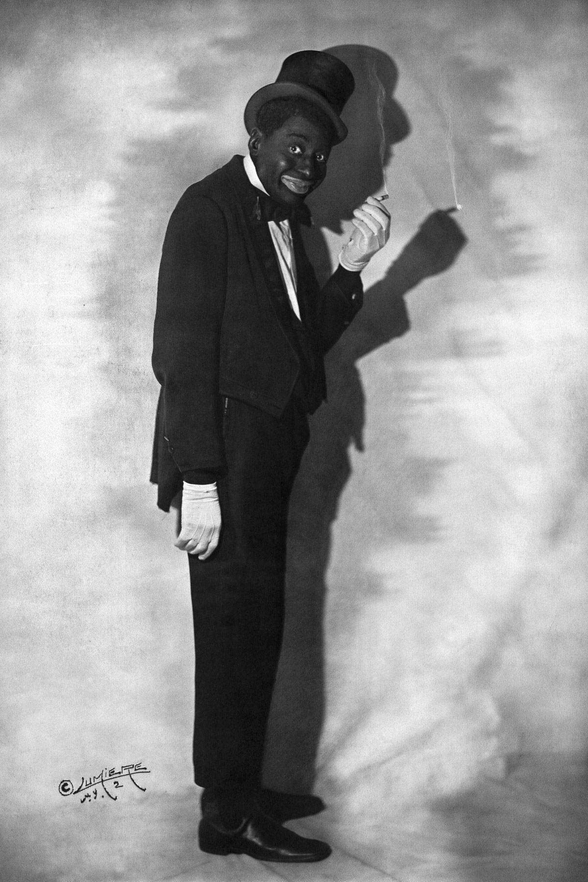 "Egbert ""Bert"" Williams, 1915."