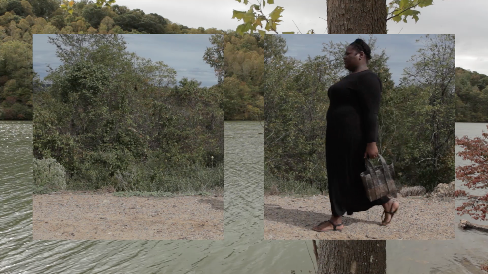Still from Averia Wright's video work, 'Tropes of Caribbean Identity' (2016).
