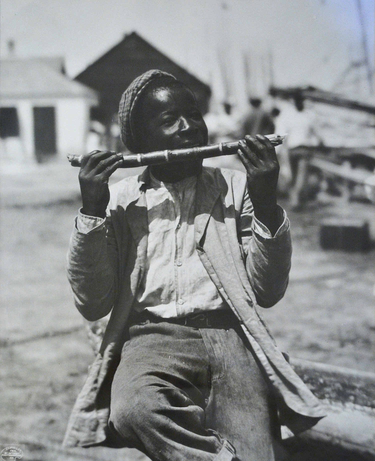 """""""Native Sugar Mill"""" (ca. 1901), William Henry Jackson, Original glass plate print on archival paper, 11 x 14. Part of the National Collection."""