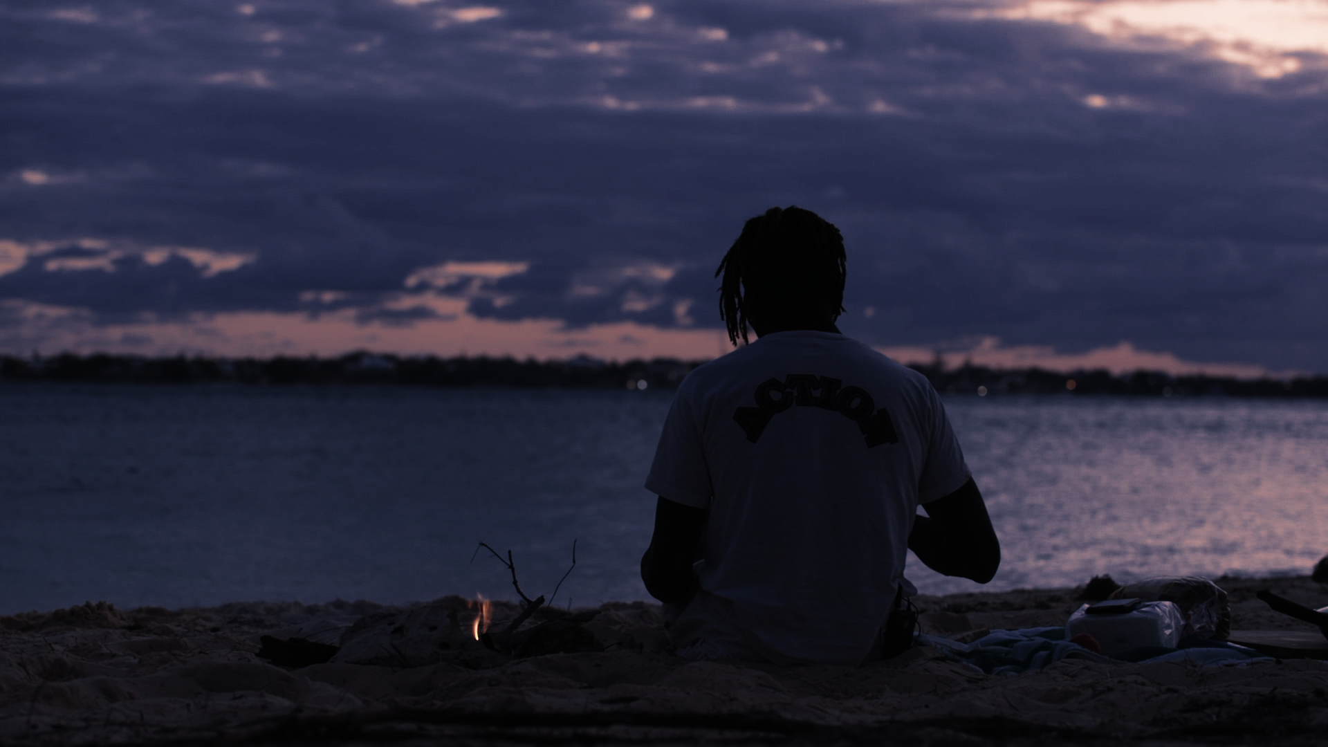 """Film-still from Settler's Cove Productions series of short docs """"Those From Shallow Waters"""", featuring the Bahamian legend that is """"Action"""". These films will be on view at the NAGB starting Tuesday, September 19th."""