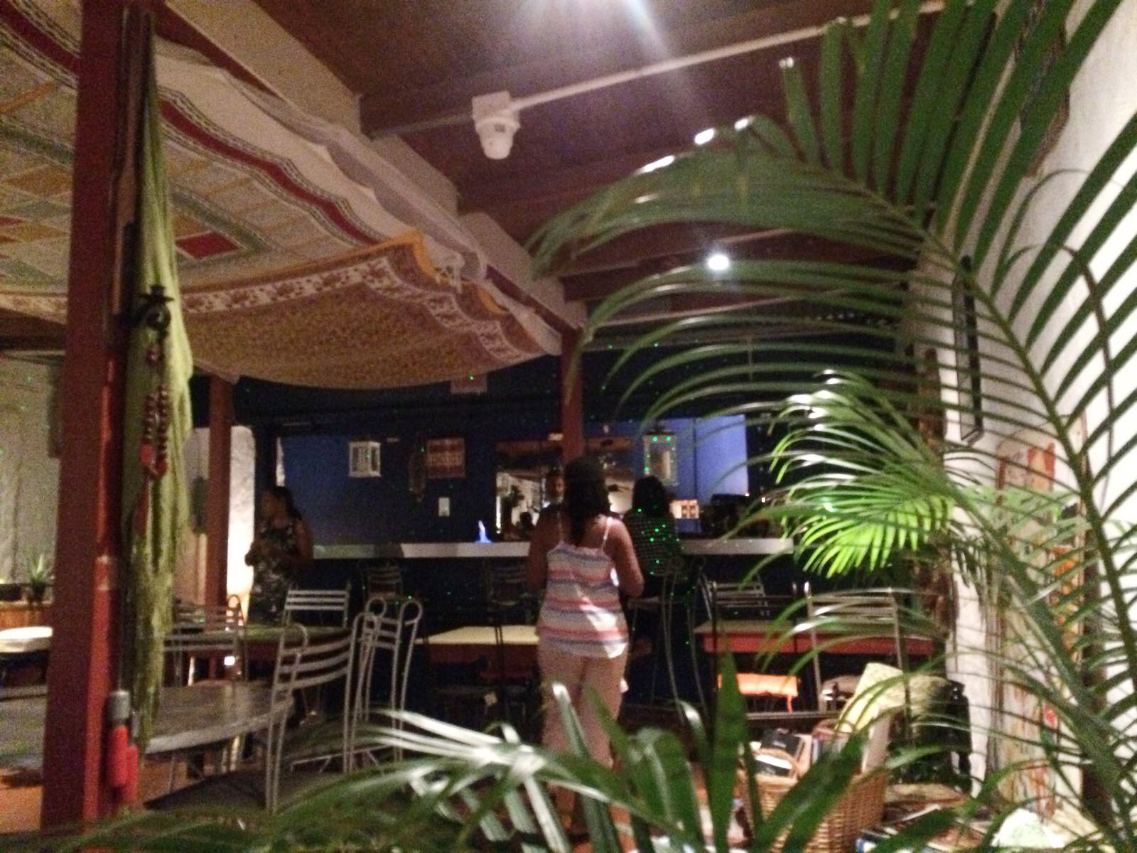 Local vibe at rustic restaurant in Woodbrook, Port of Spain, Trinidad. Images by Dr Ian Bethell-Bennett