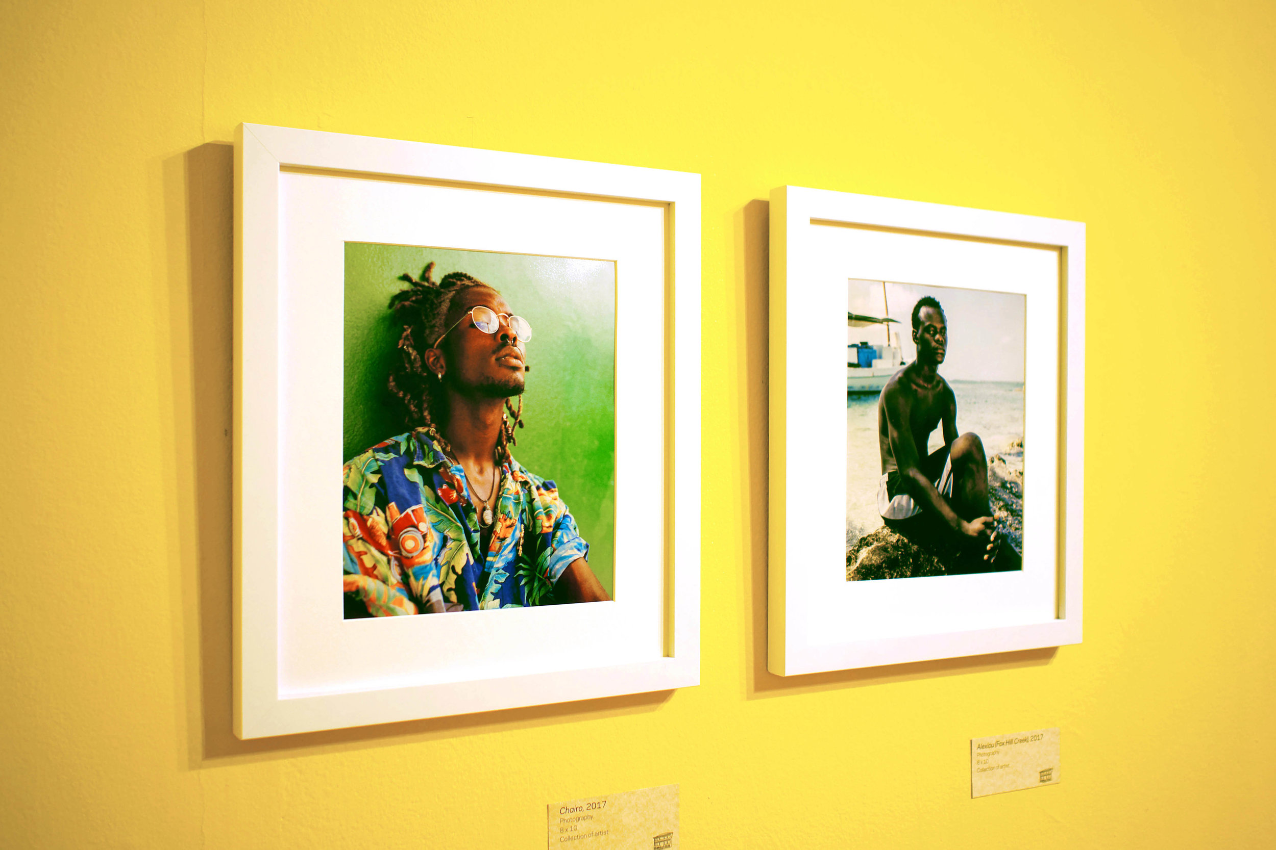 """Installation shot of """"Some Re(Assembly) Required"""" on view in the Project Space Room at the National Art Gallery of The Bahamas through December 3rd, 2017."""