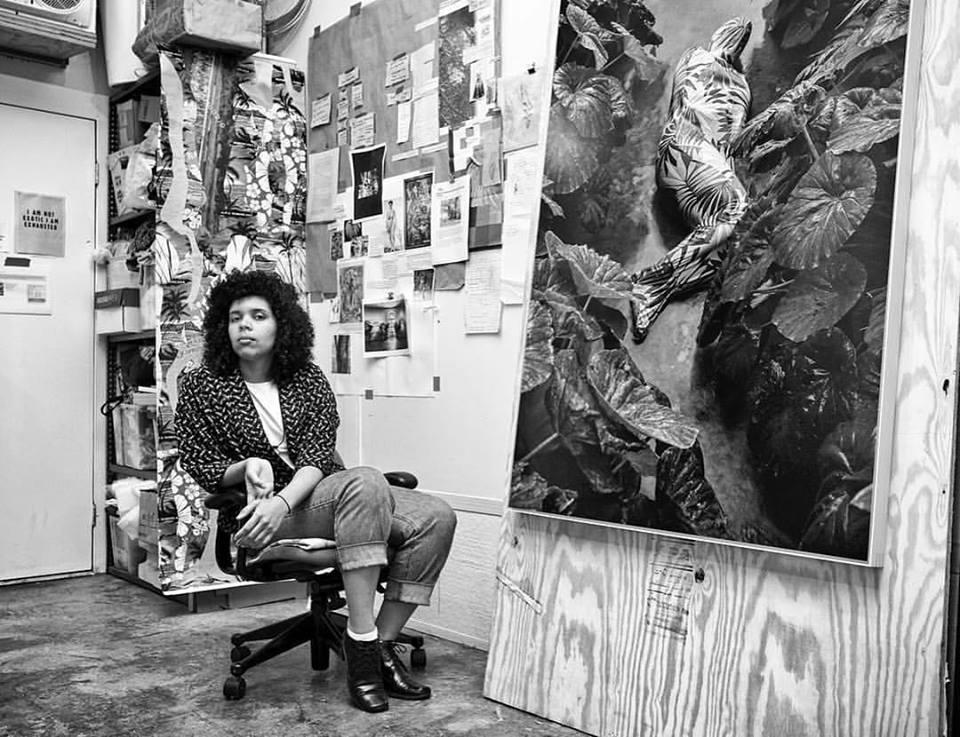Portrait of Joiri Minaya. Image courtesy of Maxim Ryazansky.
