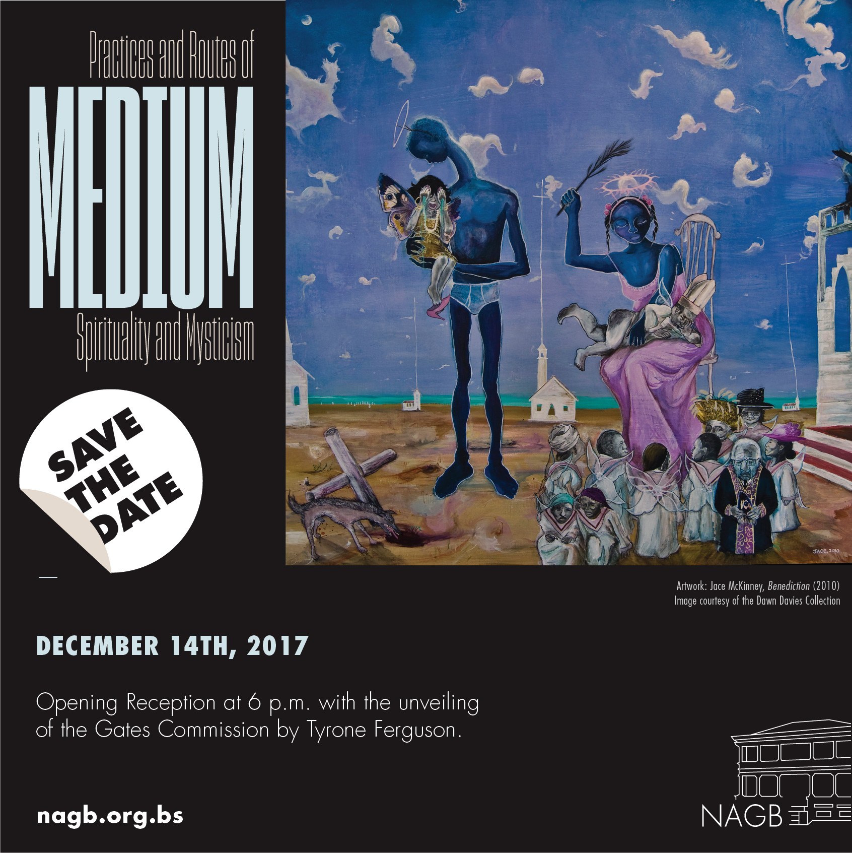 Medium opens on December 14th at the NAGB.