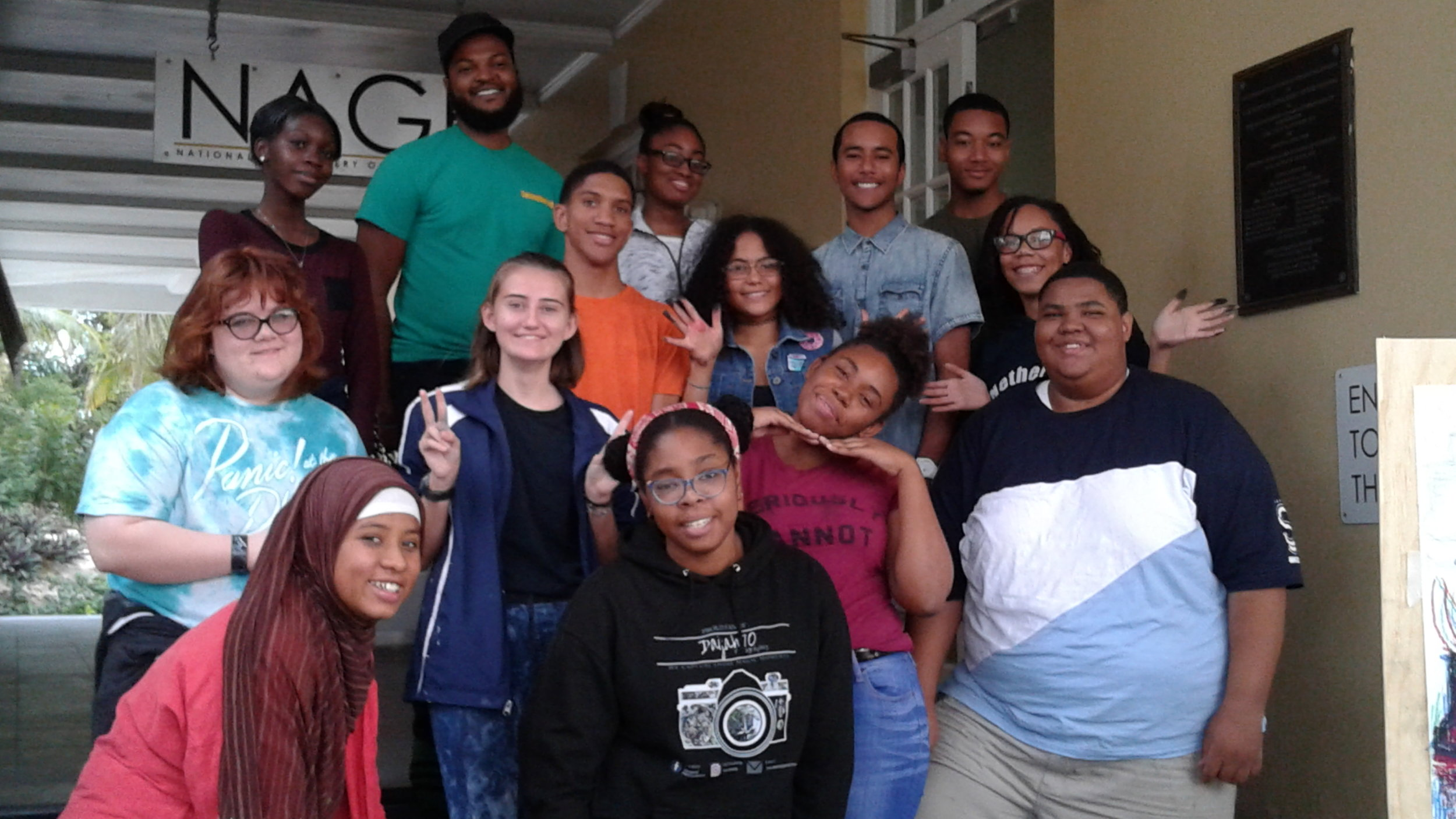 Steffon Grant and workshop participants.