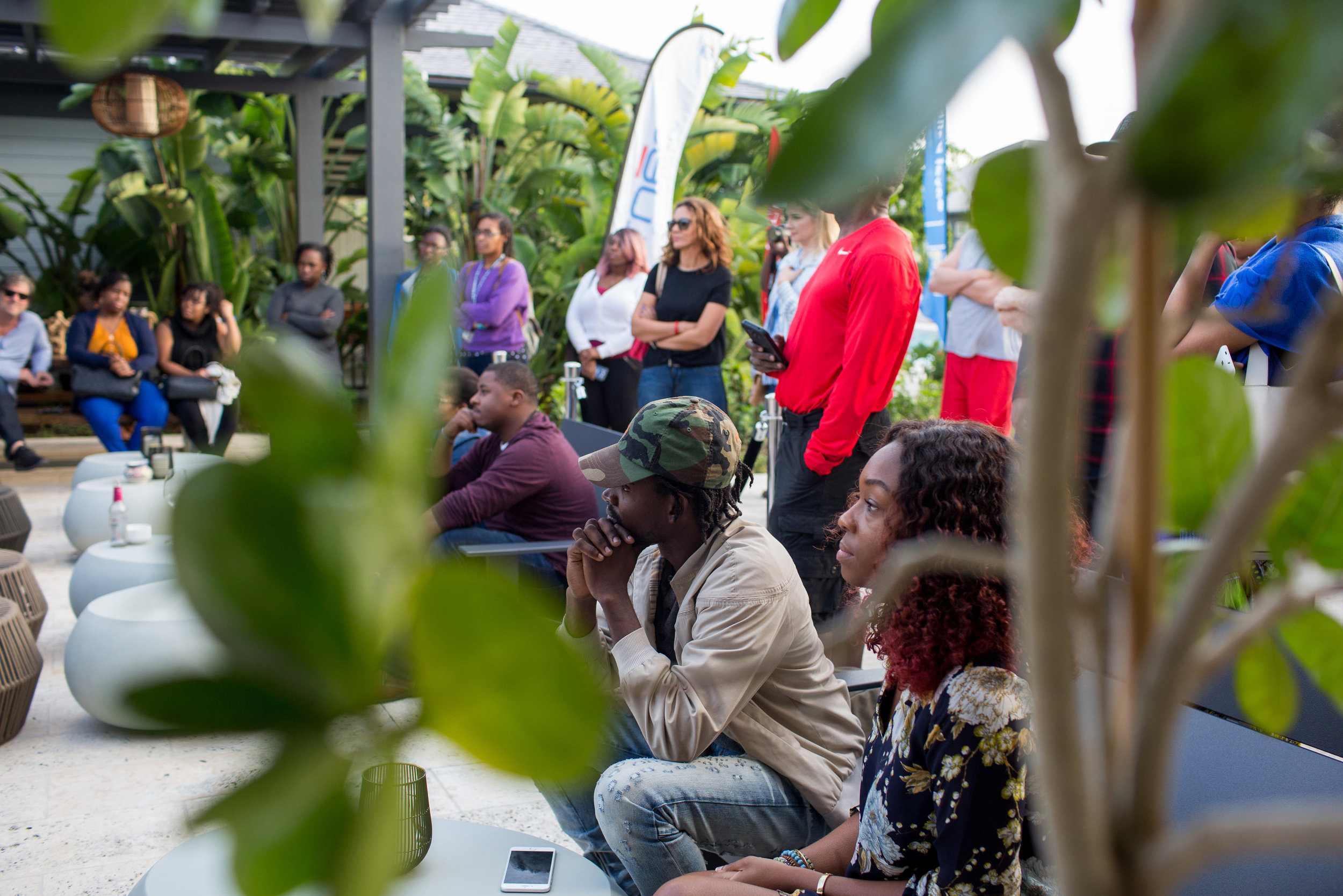 The Island House Film Festival 2018 hosted a wide range of screenings, talks and workshops where guests from across the island were able to learn from and engage in discussion with filmmakers from The Bahamas, the Caribbean and around the world. Image courtesy of The Island House / Photographed by Dede Brown
