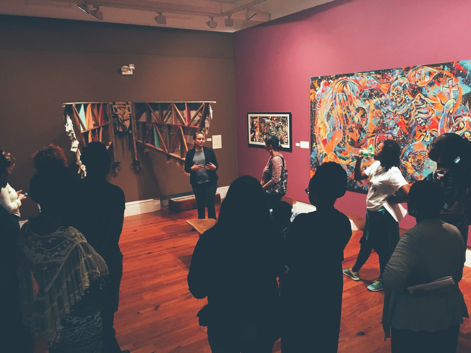 """Routes and Roots the guided tour of """"Medium: Practices and Routes of Spirituality and Mysticism"""" held at the NAGB on February 3rd, 2018."""
