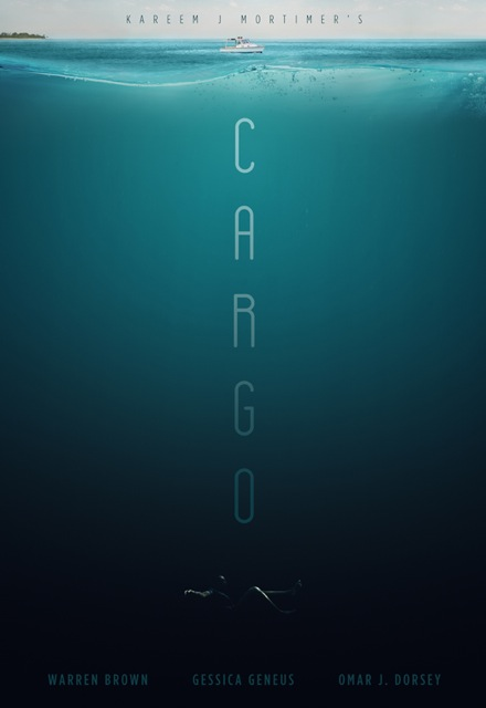 """Film poster for """"Cargo,"""" concept conceived by Best Ever Films, executed by Daniel Spatzek."""