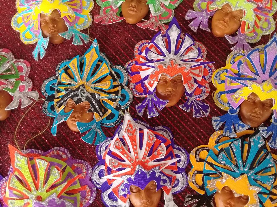 Junkanoo products by Kevin and Vanessa Knowles;