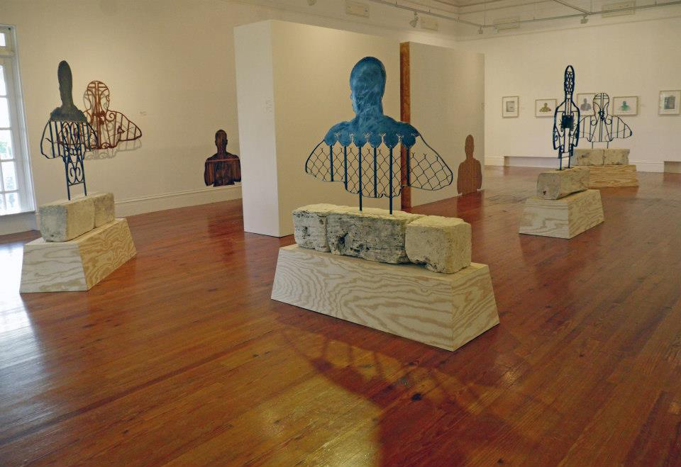 """Installation shot of """"The John Beadle Project"""" (2013) held at the NAGB."""