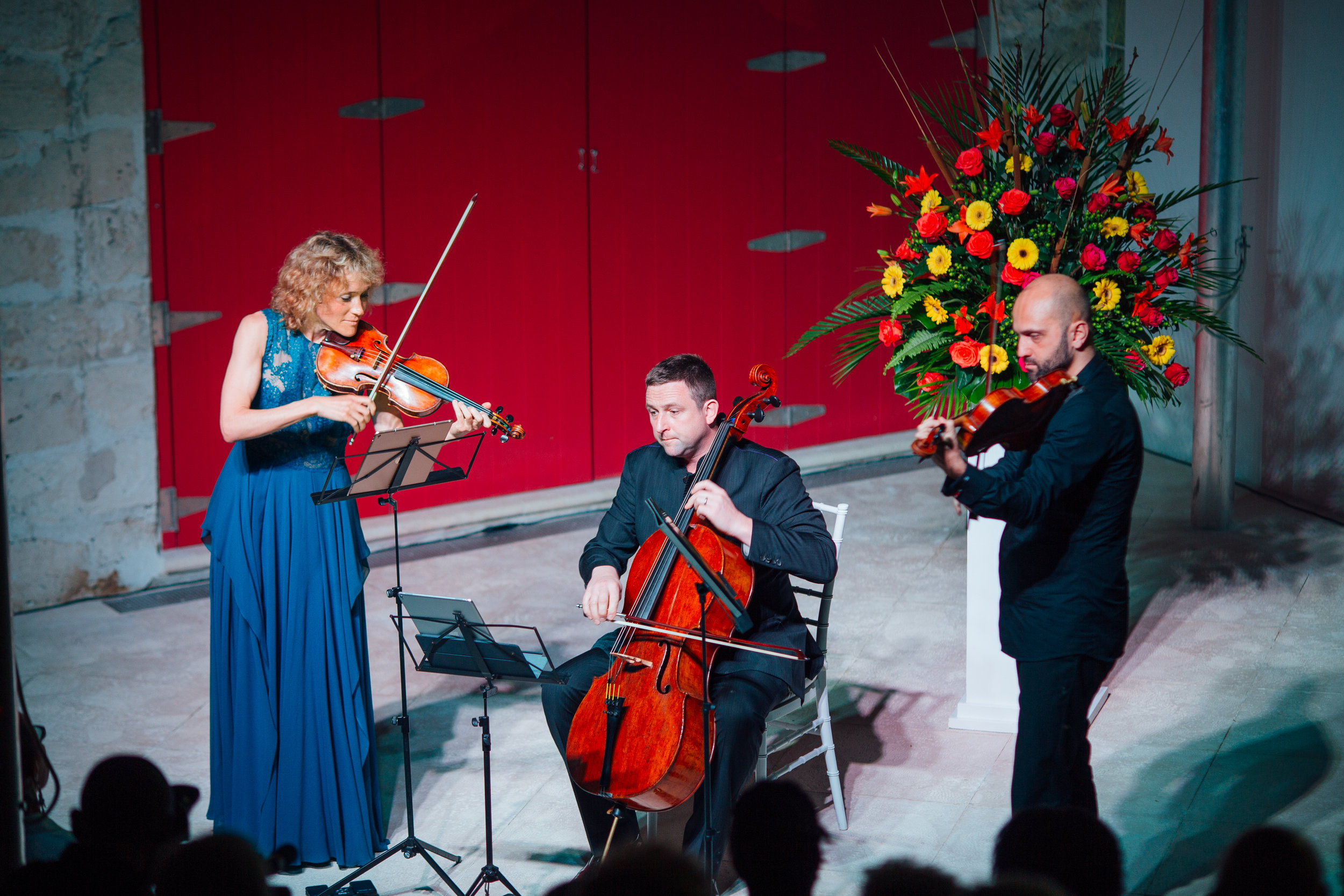 The Ayriel Trio performing renditions from the likes of Schubert and Mozart. Images courtesy of Kovah Duncombe Photography and Cacique International