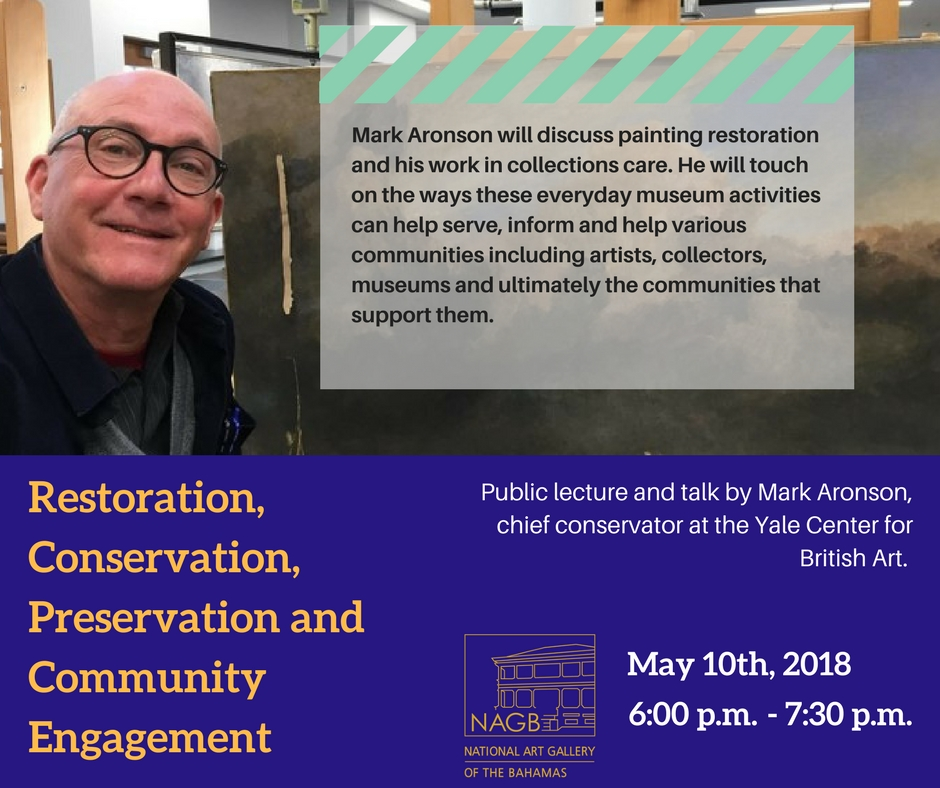 Mark Aronson will discuss painting restoration, his work in collections care and touch on the ways these everyday museum activities can help serve and inform and help various communities, which include artists, colle.jpg