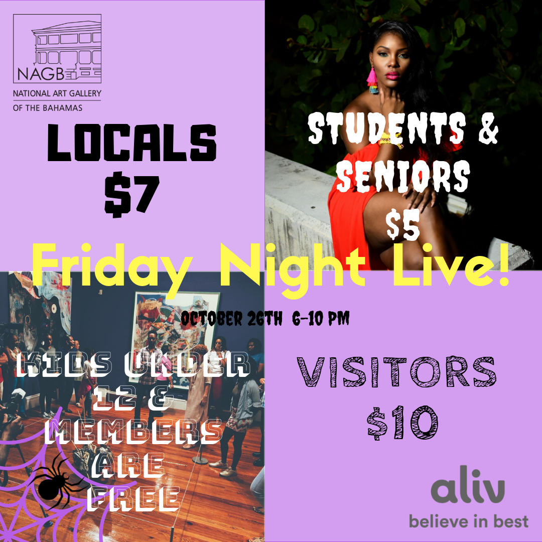Promotion for FNL! which takes place on Friday, October, 26th starting at 6pm at the NAGB