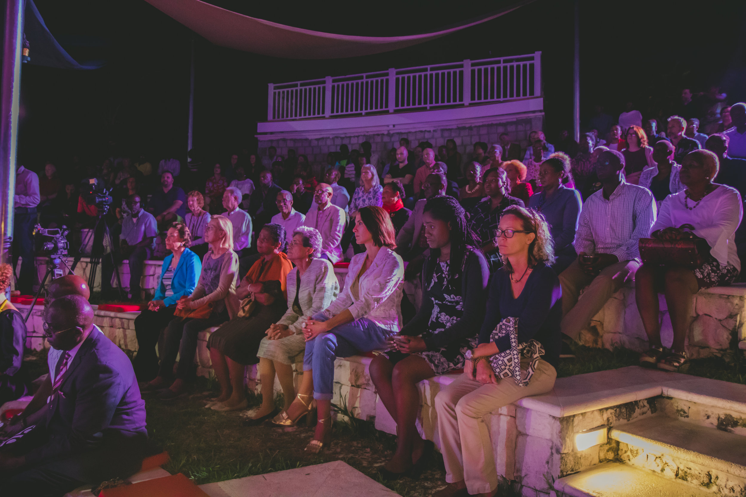 Over 550 people were in attendance celebrating the works of 38 contemporary Bahamian artists whose works look through a lens of race, gender, parity or class as a way to clarify cultural and social concerns.