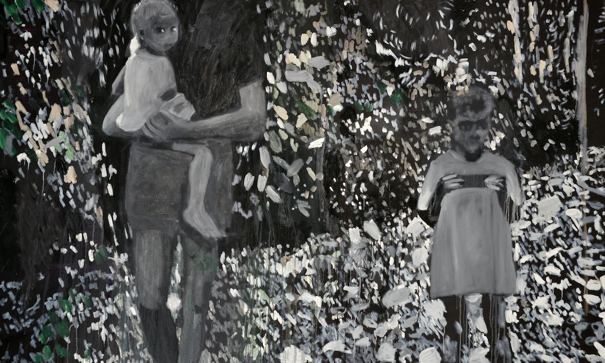 Tessa Whitehead. Portrait. Oil on canvas. 2019