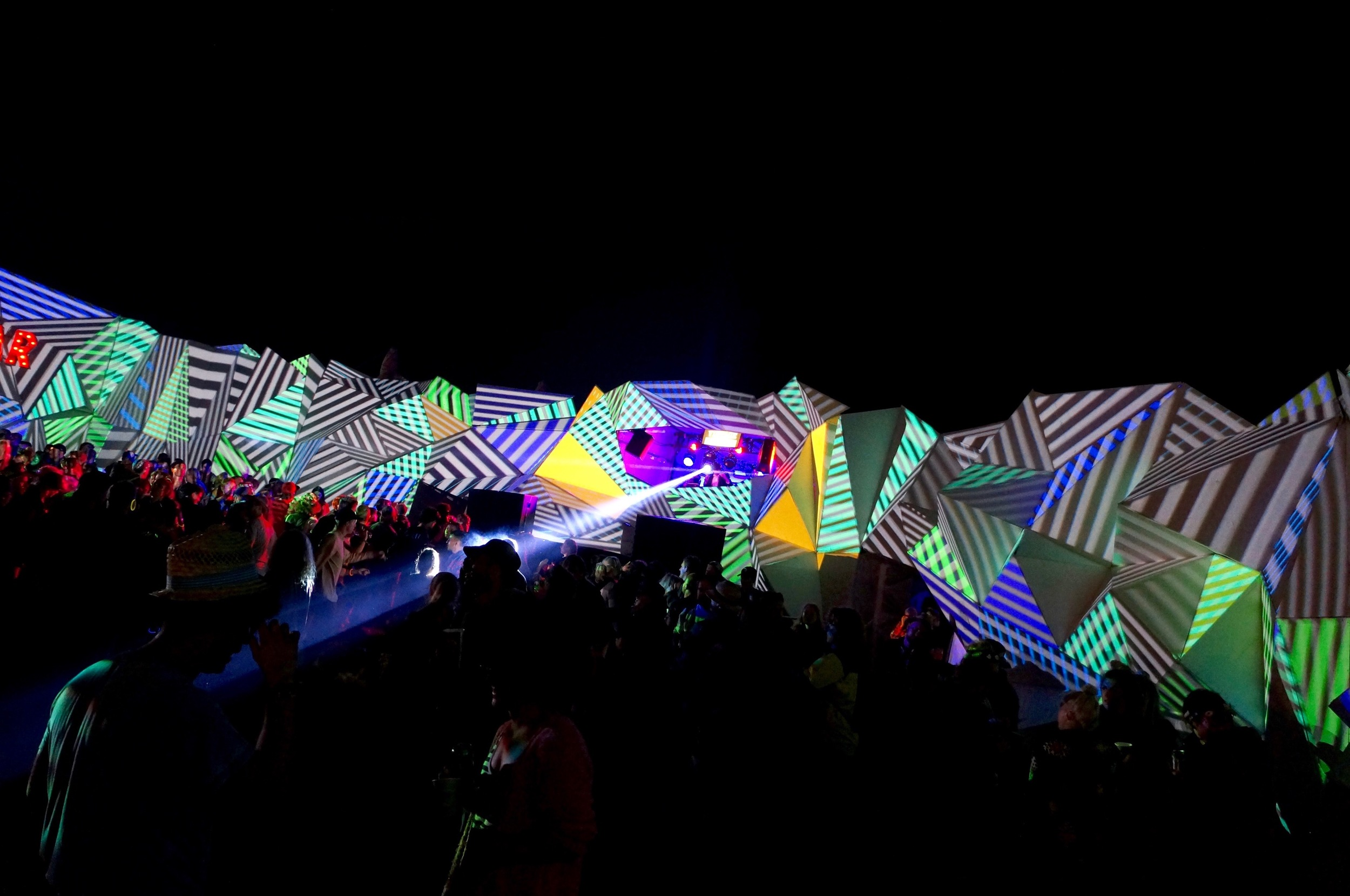 """Projection mapping """"Heaven"""""""