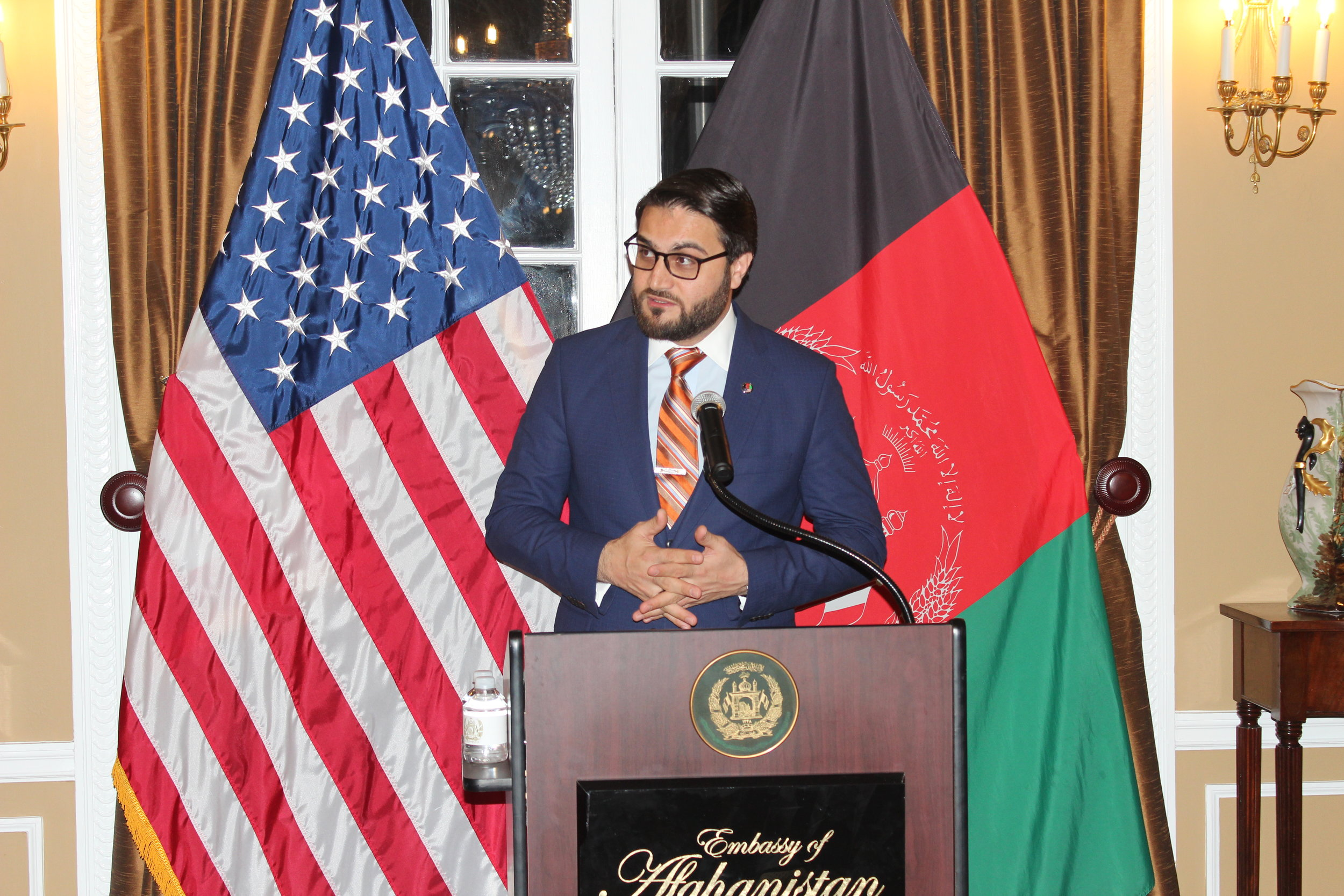 His Excellency Dr. Hamdullah Mohib of Afghanistan - Afghanistan Ambassador to the US