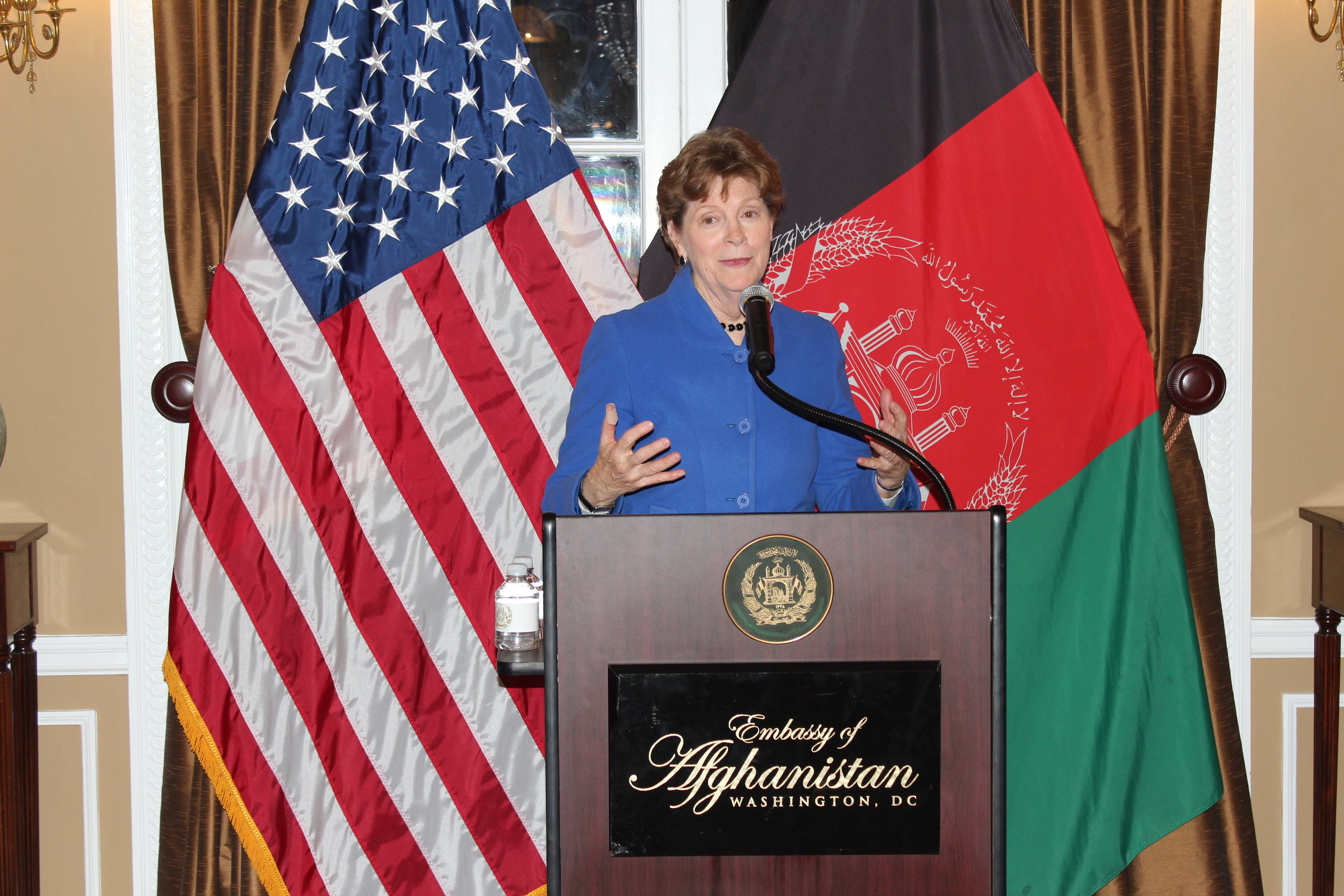 Senator Jeanne Shaheen, US Senator from New Hampshire -