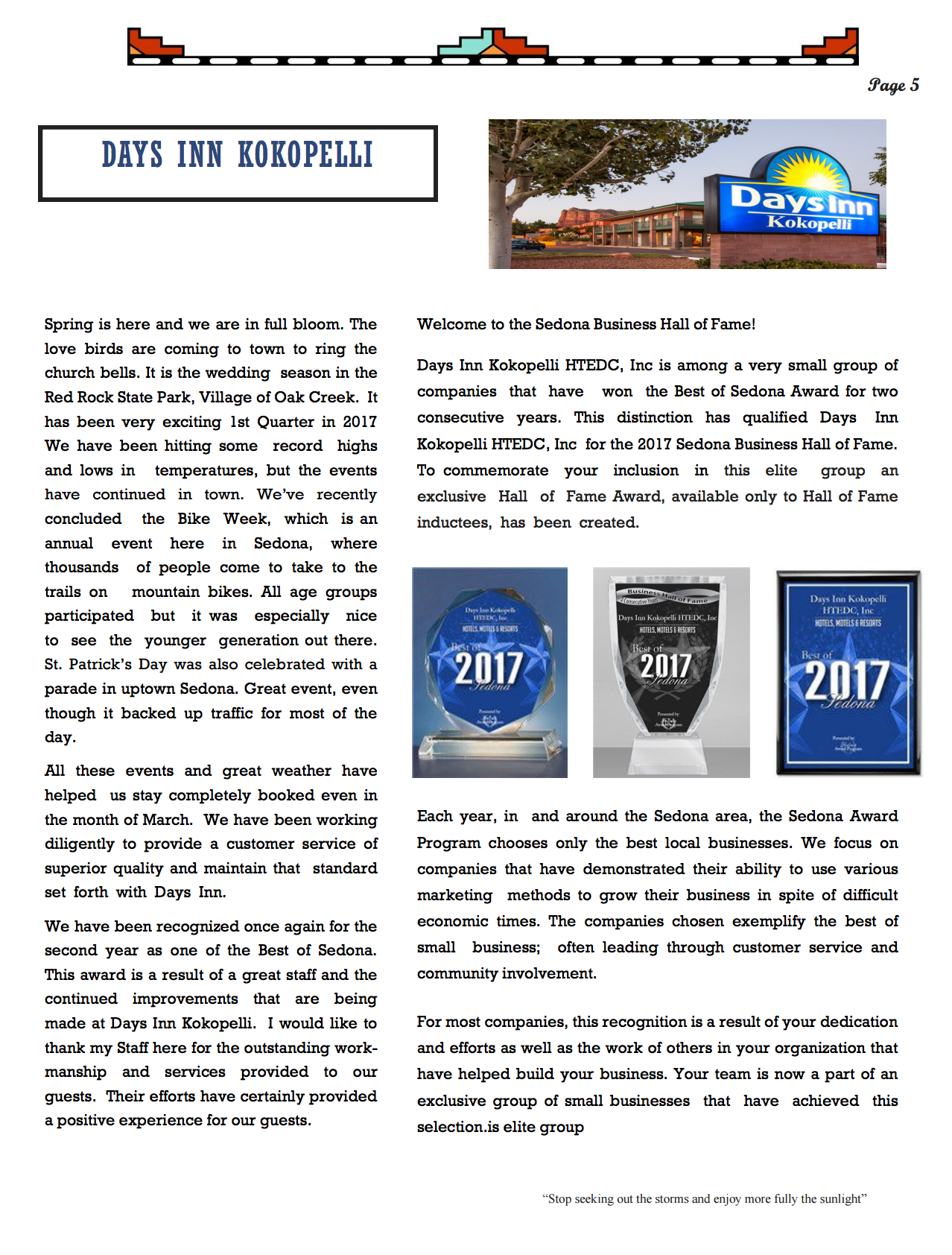 April Newsletter - Page 5