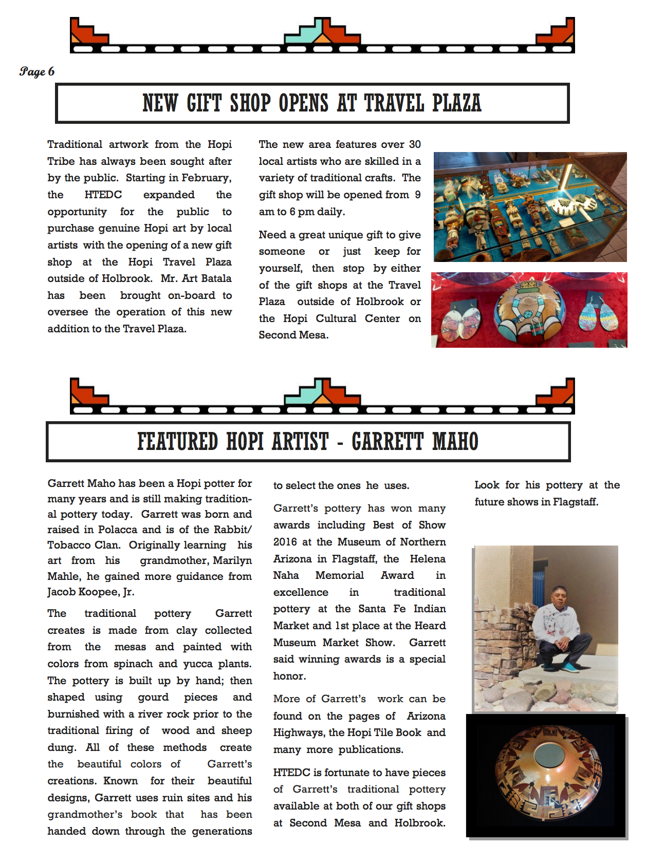 April Newsletter - Page 6
