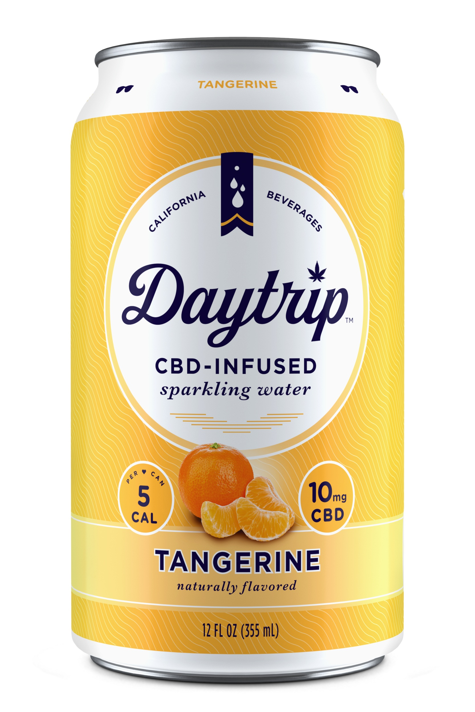 Daytrip Tangerine CBD Infused Sparkling Water