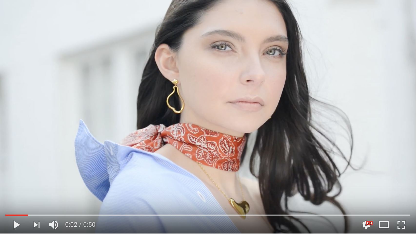 Felice Dahl Skargard Jewellery Campaign Video