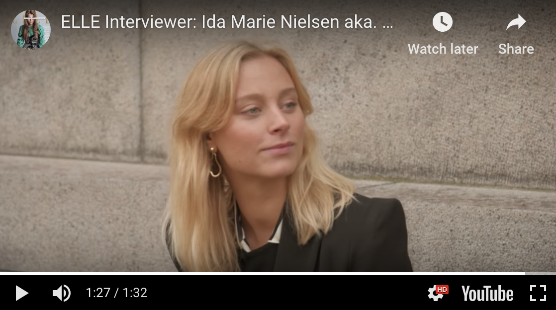 Ida Marie Nielsen Elle Danmark Felice Dahl Jewellery