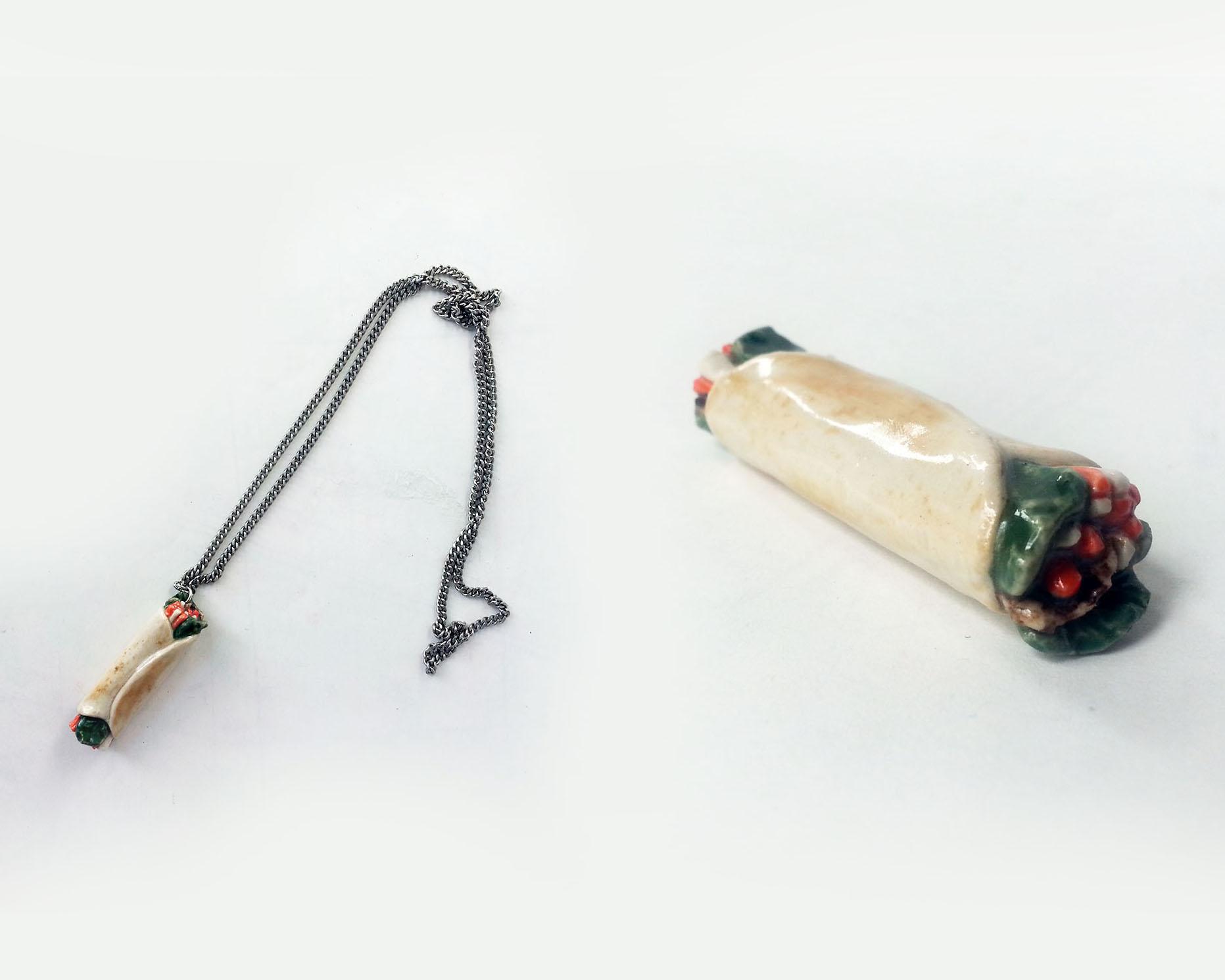 Shawarma Necklace
