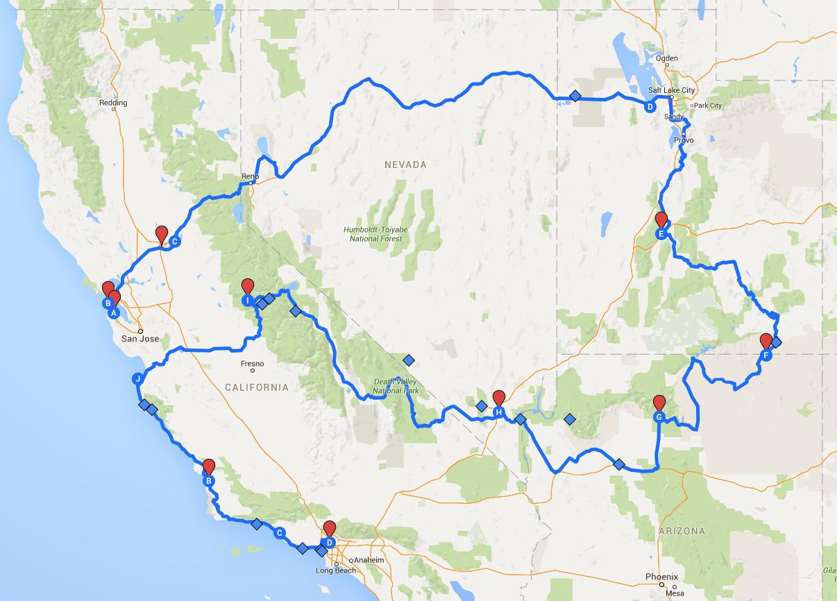3403 Miles. 4 States. 1 Epic Adventure.