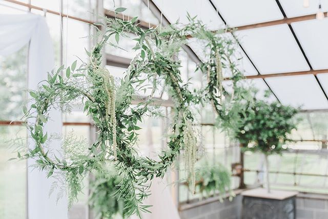 Dreaming about this late summer shoot from last year. I was challenged to create a whimsical hanging installation that brought together the natural elements of this restored greenhouse. 🍃 . . . #eventprof #eventplanner #eventcoordinator #eventstyling #eventdesign #midwestevents #Darlingweekend #thatsdarling #pursuepretty #weddingdesign #calledtobecreative #girlboss #vscocam #asseenincolumbus #styleinspo #columbusflorist #editorialstylist #livecolumbus #lifeincbus #asseenincolumbus #greenery