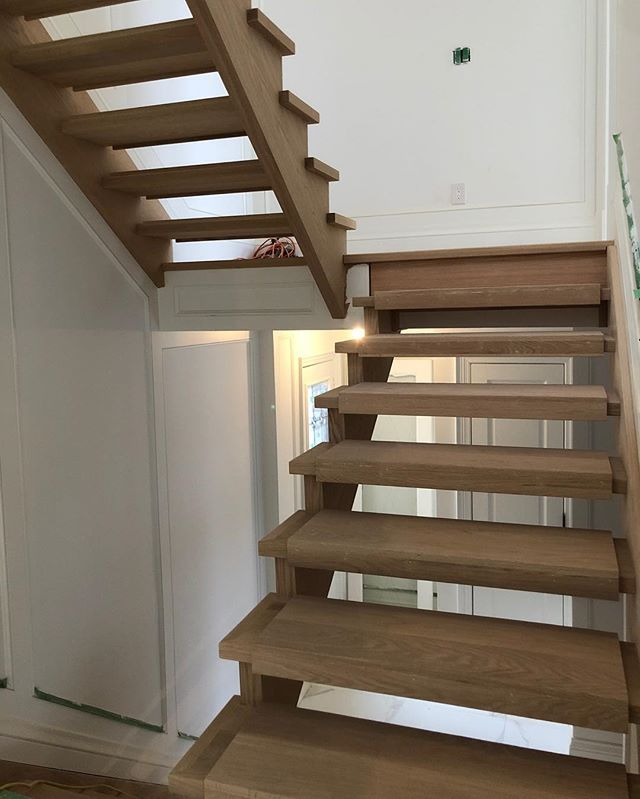 🛠#stairsbymillennium  #stairs #ajax #homeimprovement #homesweethome #custom #builtforyou #homestyle #interiordesign #home #designlife #stairsofinstagram