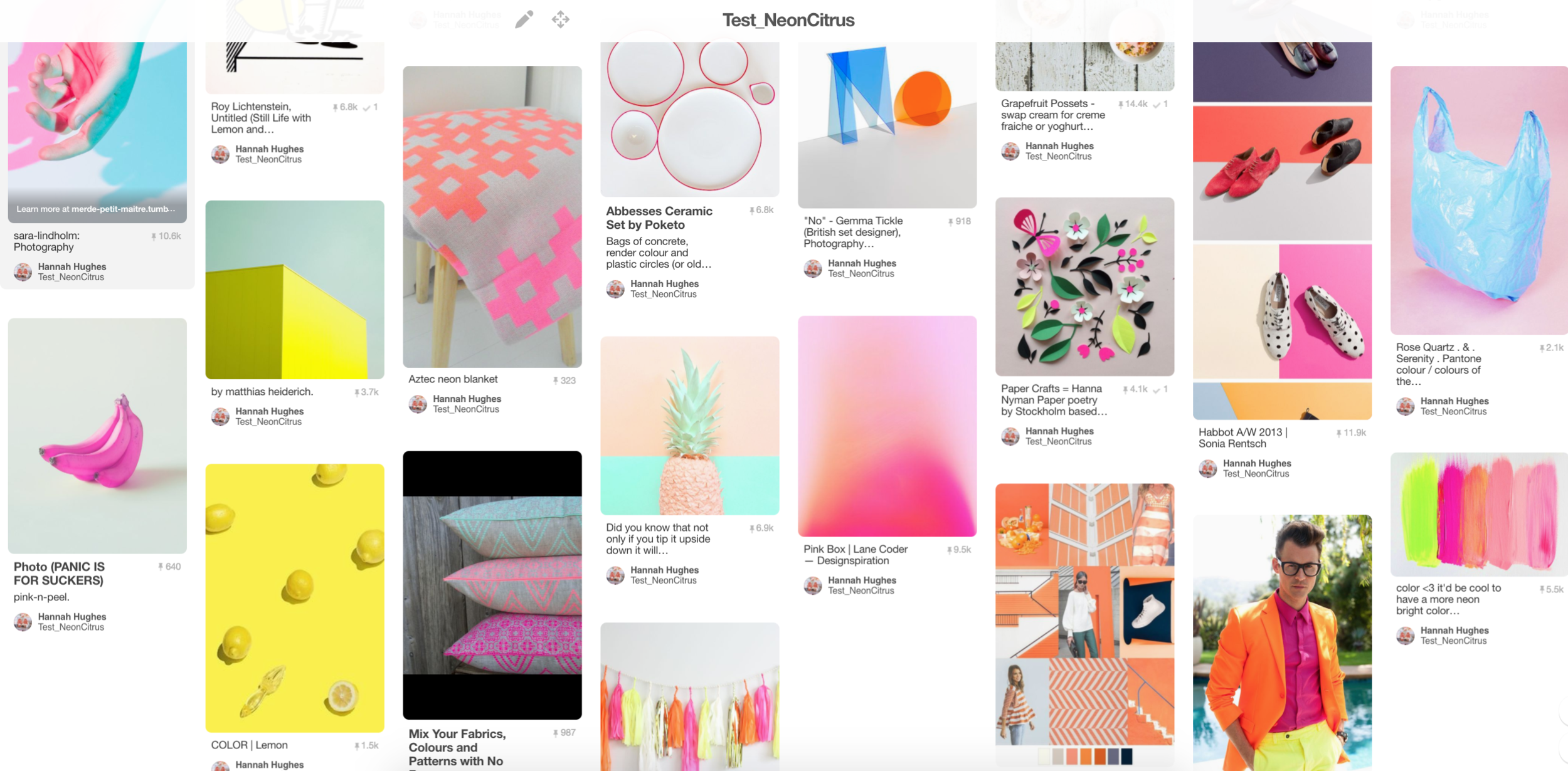A Screenshot of my Pinterest board, which is usually how I start to brainstorm for a test. CLICK ON THE IMAGE TO GO TO THE BOARD ITSELF.