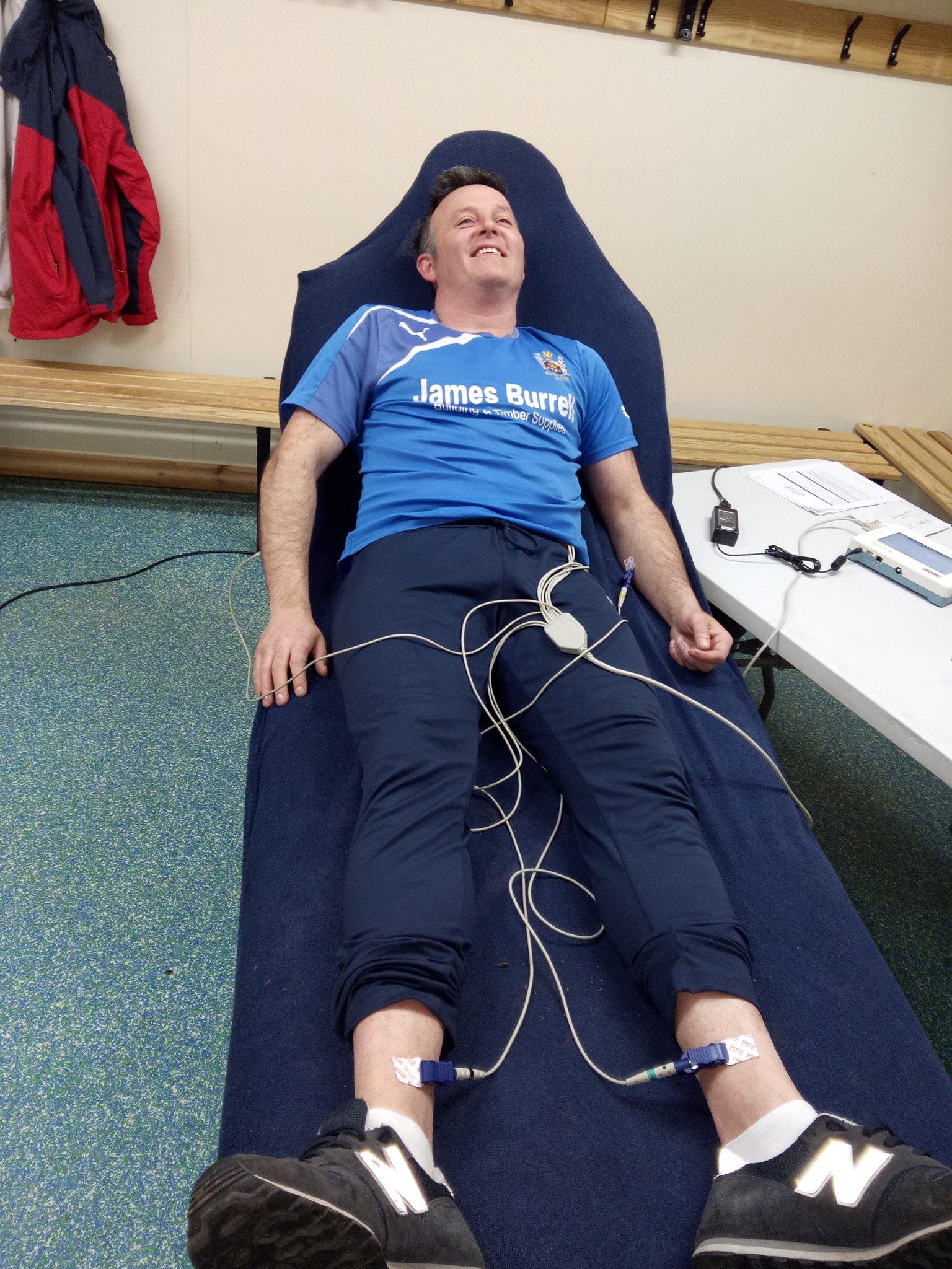 Cardiac screening at Blyth Town FC -